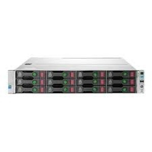 HP ProLiant DL80 Gen9 12LFF Configure-to-order Server 2 (optional) x HP Smart Socket Guides 8 DIMM slots for RDIMM, LRDIMM DDR4 Memory HP Dynamic Smart Array B140i HP Embedded Dual Port 361i Adapter Network Interface