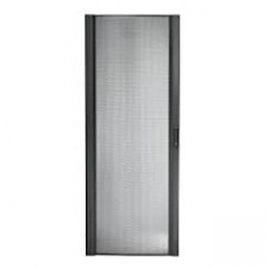 NetShelter SX 42U 600mm Wide Perforated Curved Door Black