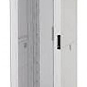 NetShelter SX 42U 600mm Wide Perforated Curved Door Grey