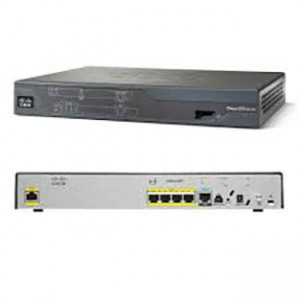 Cisco 881 SRST Ethernet Security Router with FXS, FXO