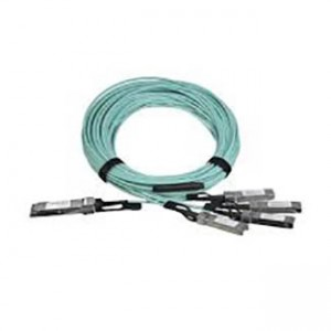 Cisco 40GBase-AOC QSFP to 4 SFP+ active optical breakout cable, 10-meter