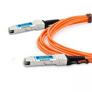 Cisco 40GBase-AOC QSFP direct-attach active optical cable, 10-meter