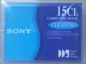Sony DGD15CL 4mm DDS Cleaning Cartridge