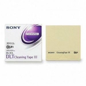 Sony DL3CL DLT Cleaning Data Cartridge Tape